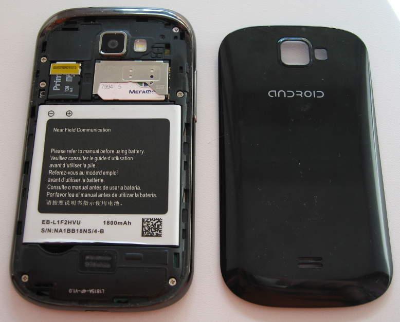 китайский телефон без крышки