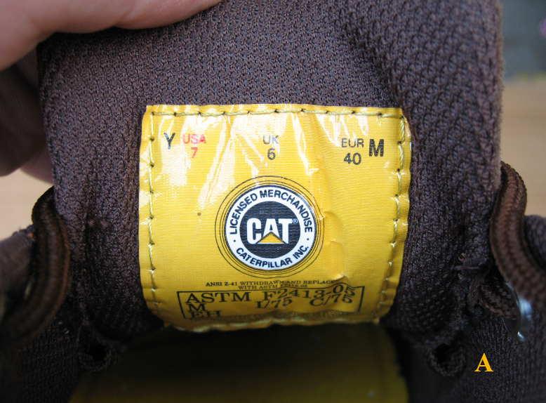 кроссовки cat