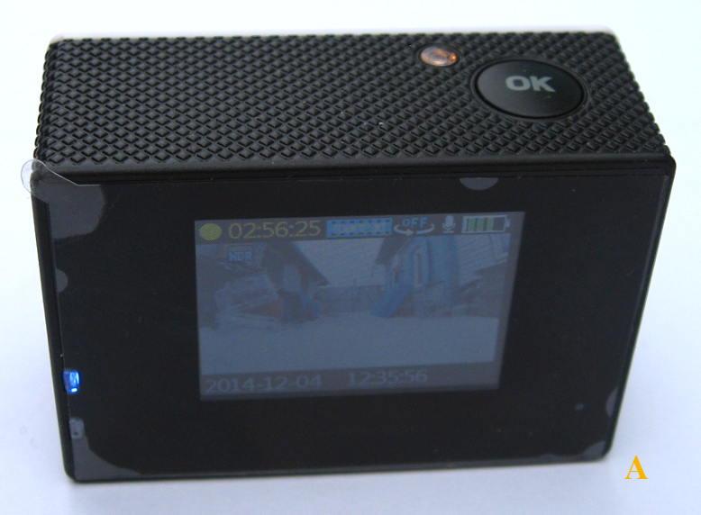 китайская экшн камера с экраном