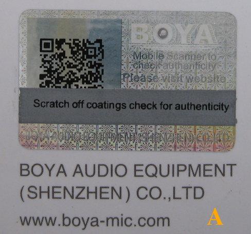 проверка микрофона boya
