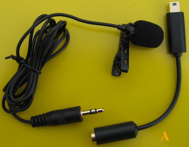 микрофон с переходником gopro