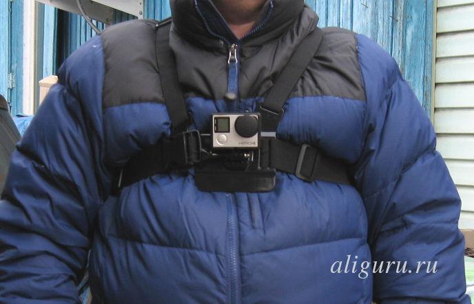 нагрудный ремень для камеры