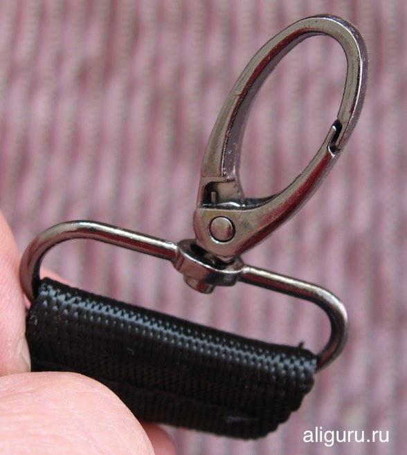 карабин ремня сумки
